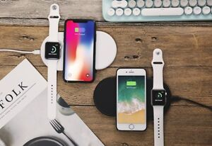 Fast Wireless Charging Pad Qi Standard for iPhone 8 iPhone 8