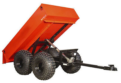 TRAILER - OFF ROAD - Coml Duty - 1600 Lb - 12VDC Electric Brakes, Dump, Lights R