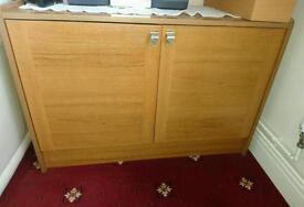 Teak wood cupboard