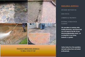 Patio/Driveway/Commercial Restoration