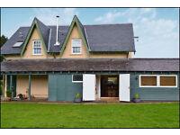 Self Catering Rural Getaway on Highland Perthshire Estate From £350p week