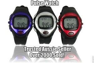 PULSE HEART RATE MONITOR CALORIE COUNTER SPORTS WATCH