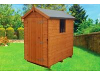 Mangham Apex Tongue & Groove Garden Shed 6x4 £299 7x5 £349 8x6 £399 Free Delivery & Installation