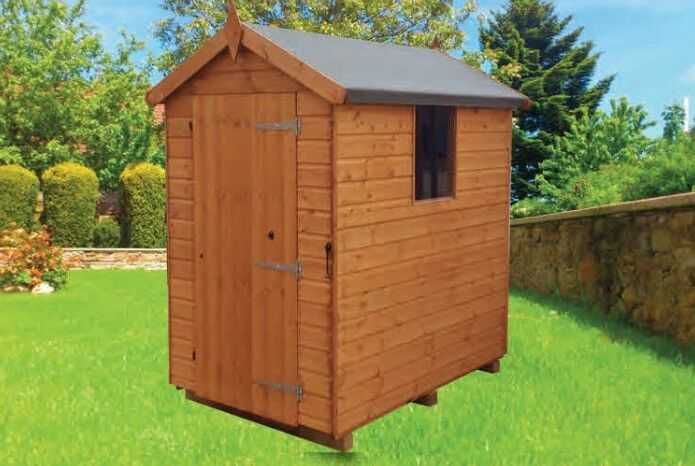 mangham apex tongue groove quality timber garden shed 6ft x 4ft 299 inc delivery - Garden Sheds 6ft By 4ft