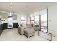 STUNNING HIGH FLOOR 3 BED 2 BATH BREATHTAKING VIEWS OF CANARY WHARF E14 AVAILABLE NOW