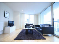 STUNNING 3 DOUBLE BED 2 BATHROOMS LUXURY APARTMENT-GYM-CONCIERGE-SOUTH QUAY-CANARY WHARF-E14