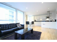 STUNNING 3 BED 2 BATH LUXURY APARTMENT, SUPERB LOCATION IN CANARY WHARF, E14. PARKING AND GYM