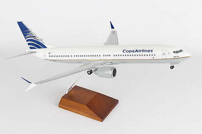 Skymarks Skr8264 Copa Airlines Boeing 737 Max9 Desk Display Model 1 100 Airplane