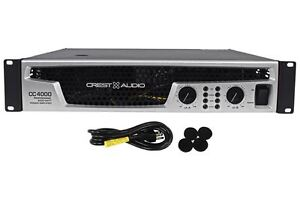 Crest Audio CC4000 CC Series Amp 4000 Watt Professional Power Amplifier