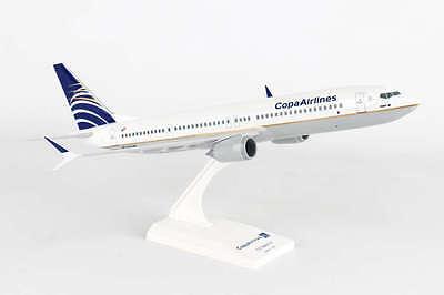 Skymarks Skr918 Copa Airlines Boeing 737 Max9 Desk Top 1 130 Model Av Airplane