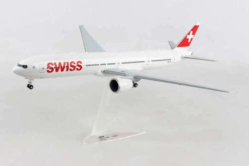 Herpa 559317 Swiss International Boeing 777-300ER HB-JNC 1/200 Diecast Jet Model