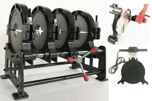 "3.54""-9.84"" Manual 4 Clamps Pipe Fusion Welder 110V Butt Fushion Welding Machine"