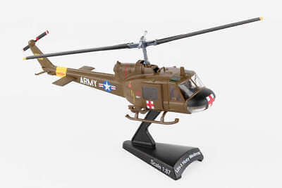 DARON US ARMY UH-1 HUEY MEDEVAC Diecast Model 1/87  PS5601-2 for sale  Columbia