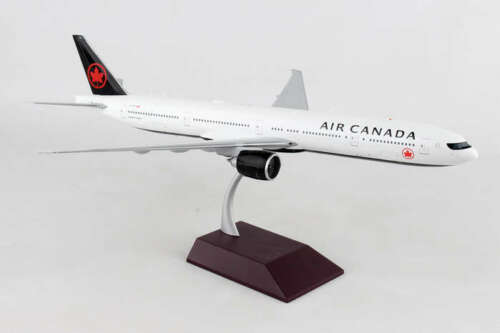 "Airplane Air Canada Boeing 777-300ER NEW LIVERY Diecast 15 "" Model Aircraft"