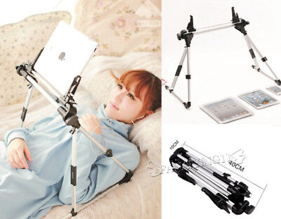 Foldable Universal Tablet PC Stand Lazy Bed Desk Floor Mount For iPad iPhone