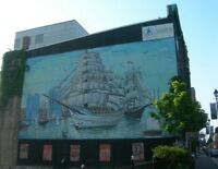 Save the Tall Ship mural