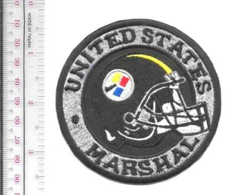 Pittsburgh Steelers & Marshal Service Pennsylvania Field Office Helmet Patch