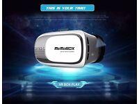 2016 Virtual Reality VR 3D Phone Headset Video Glasses Helmet+Bluetooth Gamepad For Mobile Smart pho