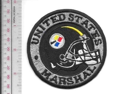Pittsburgh Steelers Marshal Service Pennsylvania Field Office Helmet Patch