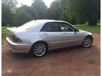 Low Mileage High spec manual LEXUS IS200 in great condition.***