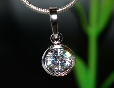 1ct brilliant single DIAM0ND pendant