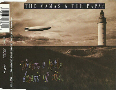 The Mamas and the PapasDream A Little Dream Of Me 3-track Jewel CaseMAXI CD