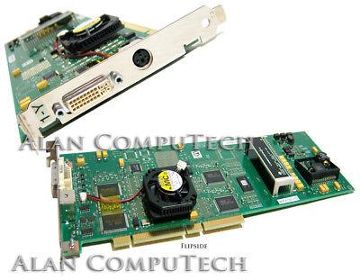 IBM GXT4500P DVI PCI with Fan Graphics Card 00P4474 09P6696 Mini DIN 3.3v 64Bit for sale  Union City