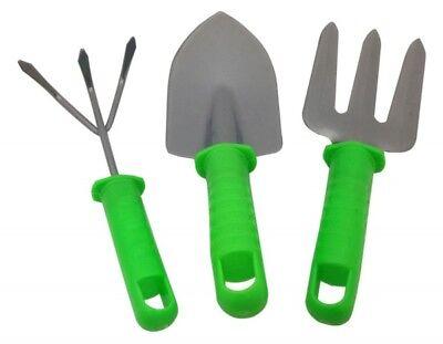 G702 Herramientas de Jardín 3er Set Pala Rastrillo Y Tenedor V2