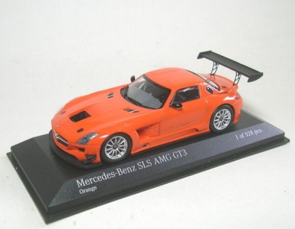 Mercedes-Benz SLS AMG GT3 Street (orange) 2011