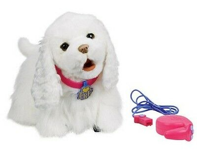 ✅  Hasbro Furreal Friends, Fur Real Friends Laufende Gogo Hund Weiß 94371148  (Gogo Hund Spielzeug)
