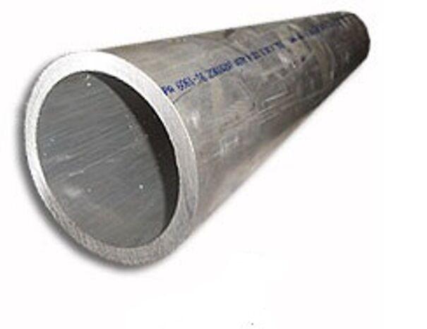"""1 Piece - Aluminum Pipe 3 inch Sch 40 x 12"""" - 6061-T6"""