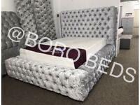 BESPOKE- CRUSHED VELVET BEDS‼️