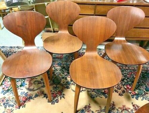 Mid Century Norman Cherner Chairs