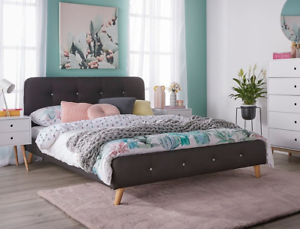 Fantastic Furniture Buttons Double Bed