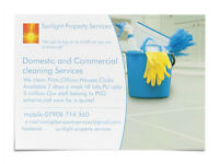 Cleaner required for a local buisness,must have PVG membership and have own transport ,pay (£8-10)ph