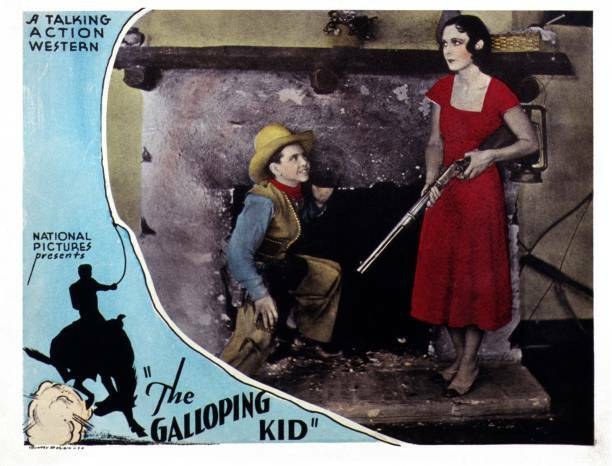 OLD MOVIE PHOTO The Galloping Kid US Lobby Card Billy Obrien Karla Cowan