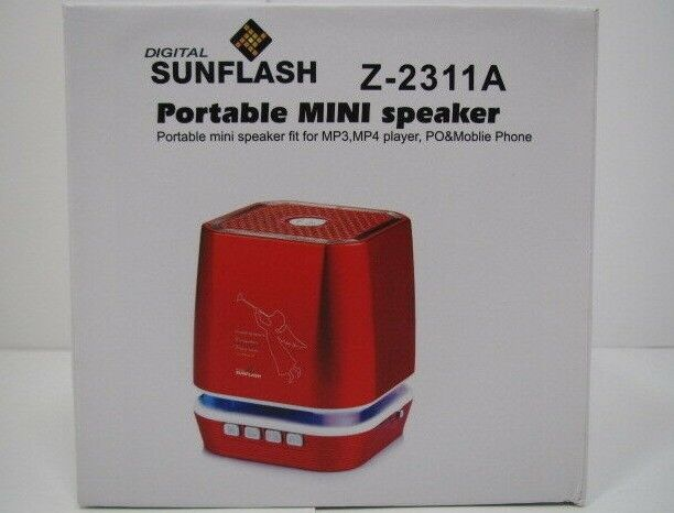 Digital Sunflash Portable MINI Speaker - Z2311A