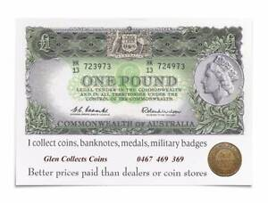 Wanted: COINS BANKNOTES BADGES MEDALS - BEST PRICES PAID IN TAS Hobart CBD Hobart City Preview