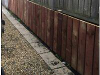 22x 3ft 150mm wide fence slats