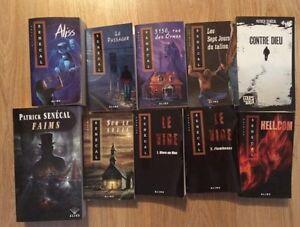 Collection de 11 livres de Patrick Senécal à vendre!