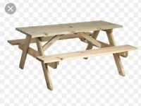 Alexander rose picnic table flat pack