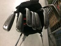 Tommy Armour 845 Irons - 4 iron to P wedge