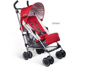 Excellent condition,UPPAbaby G-Luxe Stroller Denny Red & Silver
