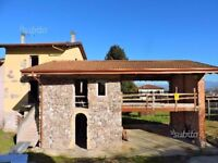 New unfinished B&B with panoramic view of Lake Garda. North Italy
