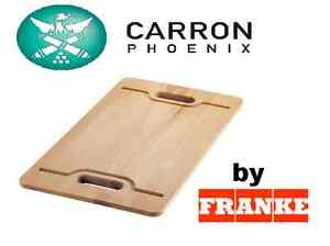 FRANKE large Wooden Wood Chopping Bread Butchers Board with handles