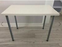 Ikea desk 100 x 60 cm - kitchen / work table / crafts white