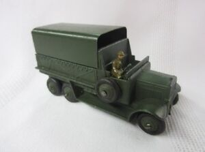 Dinky Toys Pre War Army Diecasts Rare Lot Excellent Condition