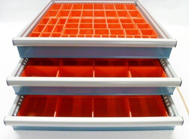 94pc Drawer Organizer Storage Bins Toolbox Organizer Drawer Dividers fit Lista
