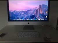 Apple iMac 27-inch late 2012 model 8gb 3TB memory with box etc
