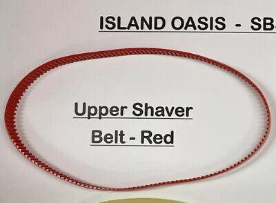 Island Oasis Blender Sb3x - Shaver Motor Belt Red - Oem Part 50153